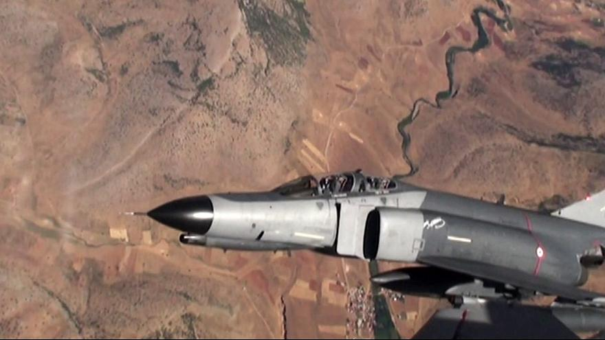 Turkey bombs PKK in northern Iraq for first time since failed coup