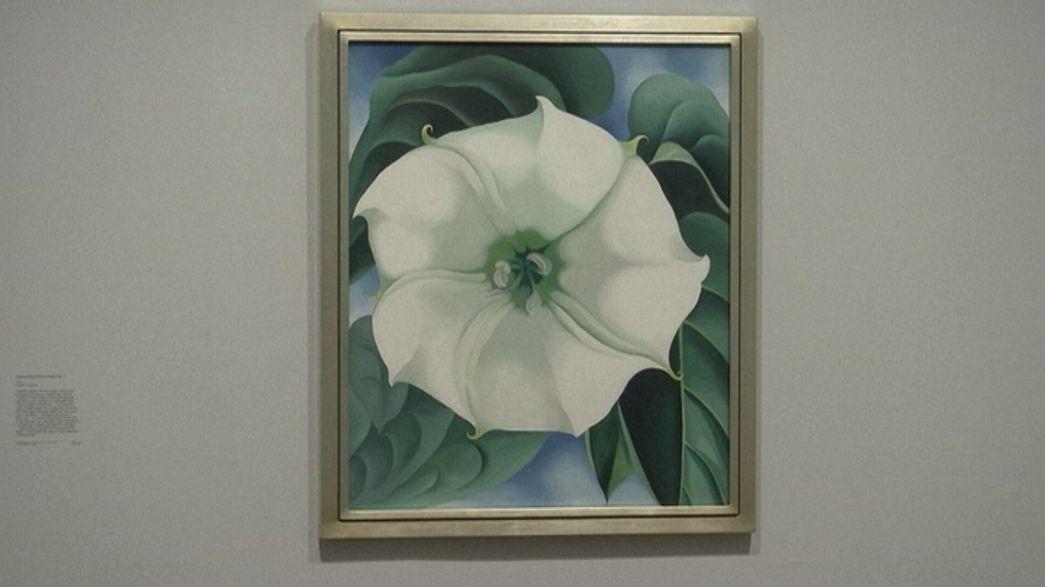 Georgia O'Keefre'nin görkemli eserleri Londra'da
