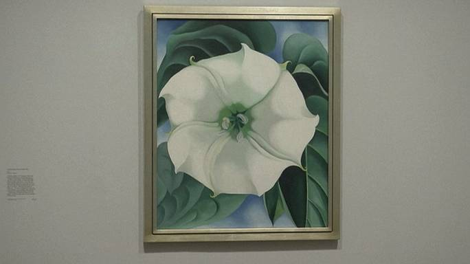 أعمال جورجيا أوكييف تنير معرض تيت مودرن بلندن