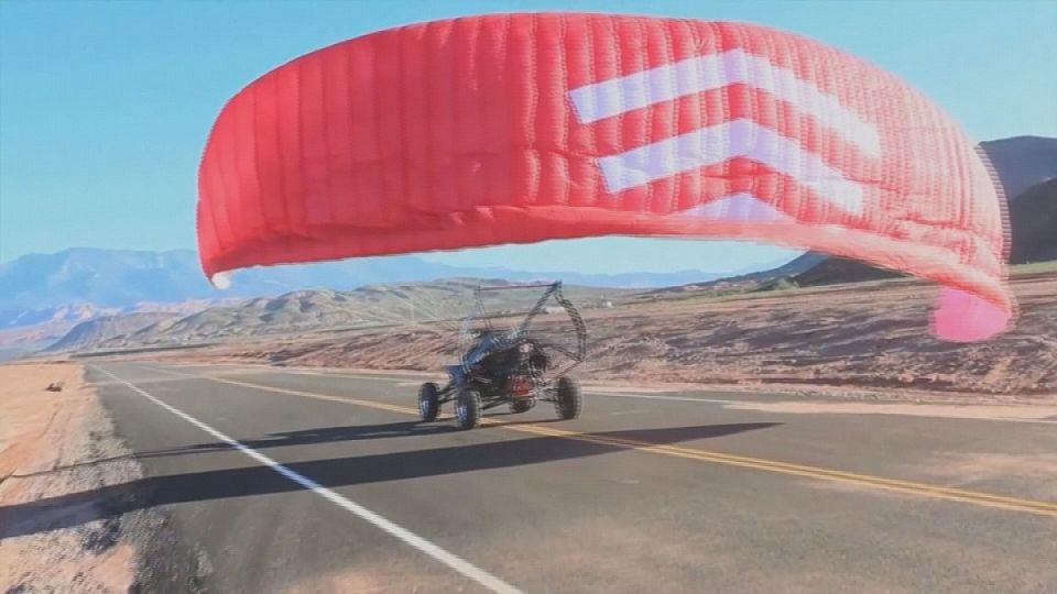 SkyQuad, l'auto che si alza in volo