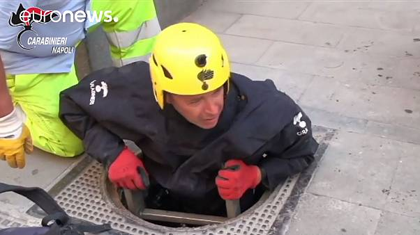 [Video] Naples jewel thieves use underground tunnel network to rob high-end boutiques