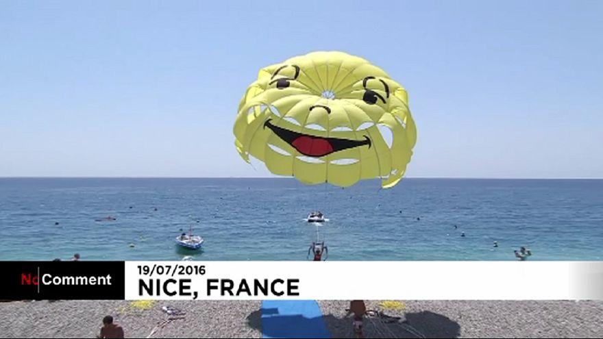 La vie à Nice reprend doucement son cours après l'attentat