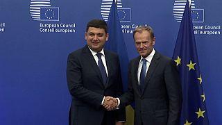 """Премьер Украины об отмене виз в ЕС: """"ждём решения в октябре"""""""