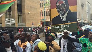 Huge pro-Mugabe rally held in Harare by ZANU PF youth