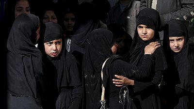 Une adolescente afghane brûlée vive