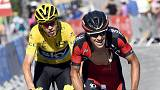 Chris Froome edges closer to third Tour de France title