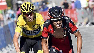Éxito para Ilnur Zakarin y Chris Froome en la 17ª etapa del Tour de Francia.