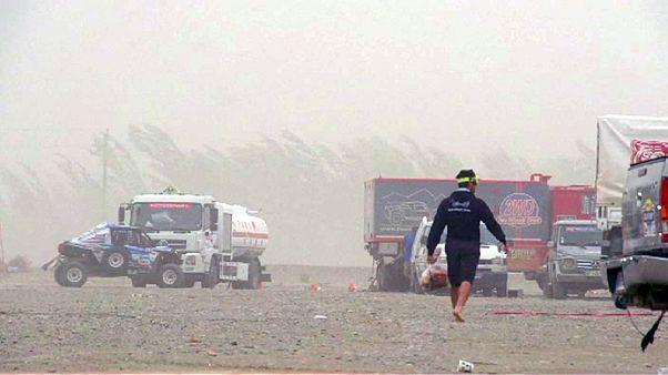 Silk Way Rallye 2016: 11. Etappe wegen Sandsturms abgesagt