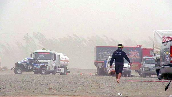 Selyemút rali - A szél és a homok közbeszólt