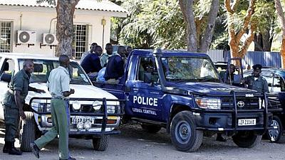 Police raid Zambian opposition leader's house arresting 28 people