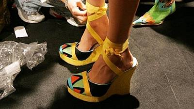 Egyptian architect turns her focus to futuristic footwear designing