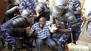 Four top Ugandan police officers charged for brutalizing Besigye supporters