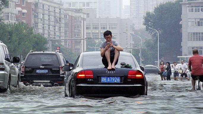 Pusztító árvíz Kínában