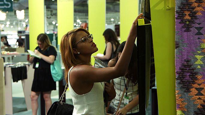 تولیدکنندگان مراکشی در نمایشگاه پوشاک «طرح اولیه» در نیویورک