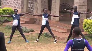 Refugee athletes getting ready for Rio 2016 Olympic Games