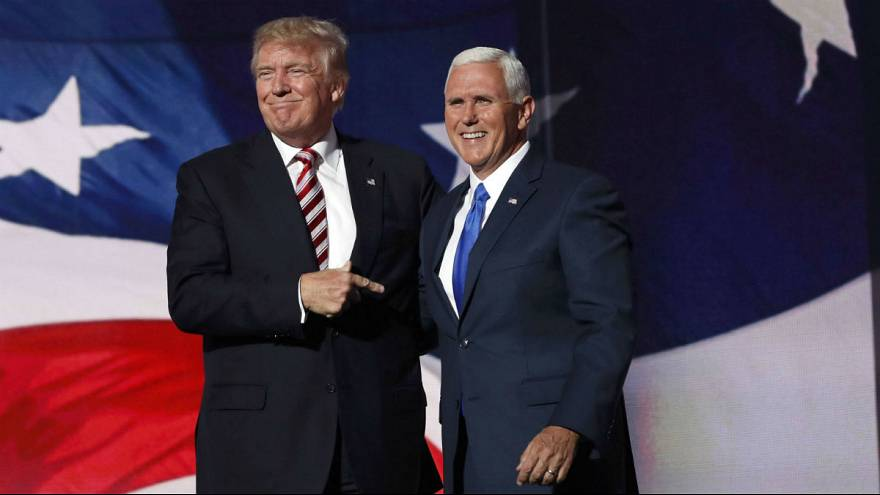 What are the political positions of the Trump-Pence ticket?