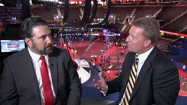 """Sergio Sánchez, delegado republicano de Texas: """"Vender a Donald Trump es fácil"""""""