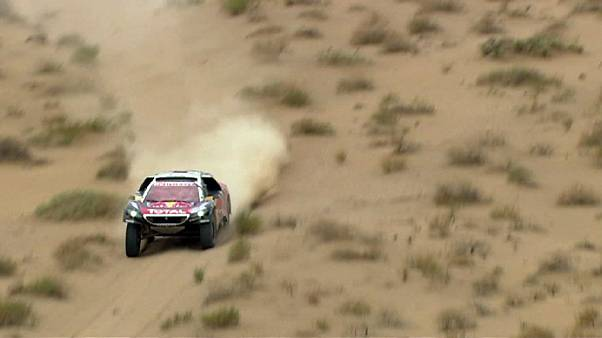 Nothing is smooth in the Silk Way Rally