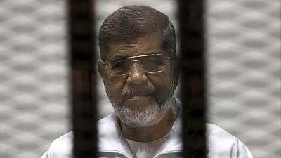 Egypte: le tribunal examinera les appels de Mohamed Morsi