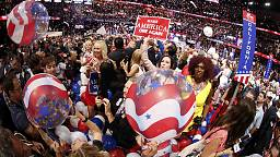 Delegates enthused by Donald Trump's speech but not everyone is happy