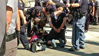 Protest und Gewaltausschreitungen während Parteitag der US-Republikaner