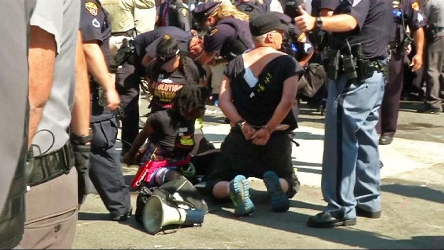 ABD'de Cumhuriyetçilerin Ulusal Kurultayı sırasında protesto ve gözaltılar meydana geldi