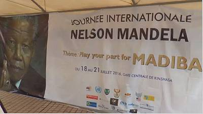 DRC remembers Nelson Mandela through art