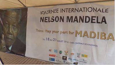 Kinshasa célèbre Nelson Mandela