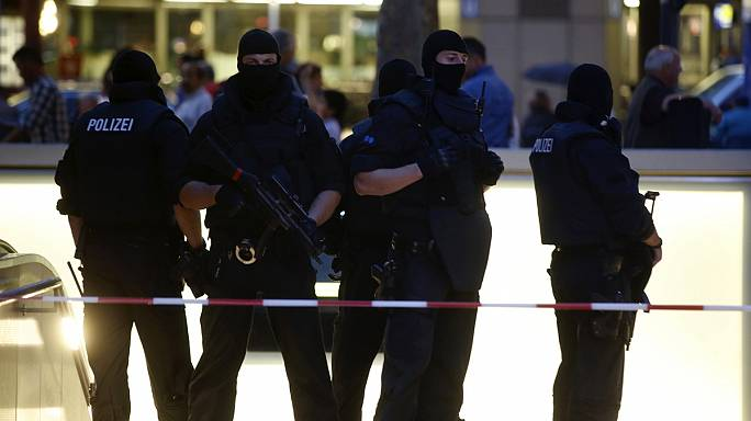 Ten dead after Munich shopping centre shooting, including suspect