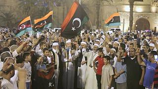 Libyans protest against the presence of French special forces