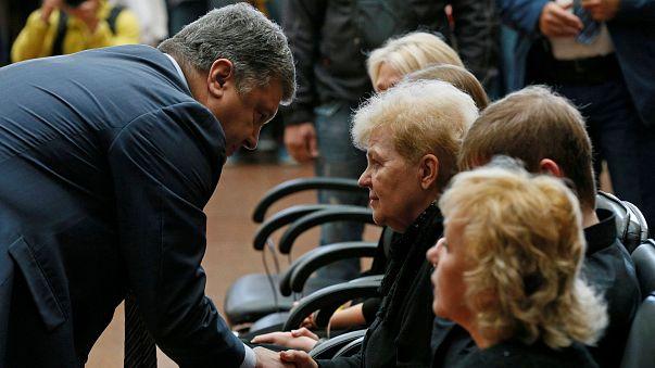 Kiev: l'addio a Pavel Sheremet