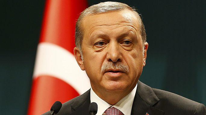 """Erdoğan: """"Tüm dünyaya saldırıların görüntülerini göndereceğiz"""""""