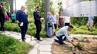 Норвегия: траурные церемонии в память о жертвах двойного теракта