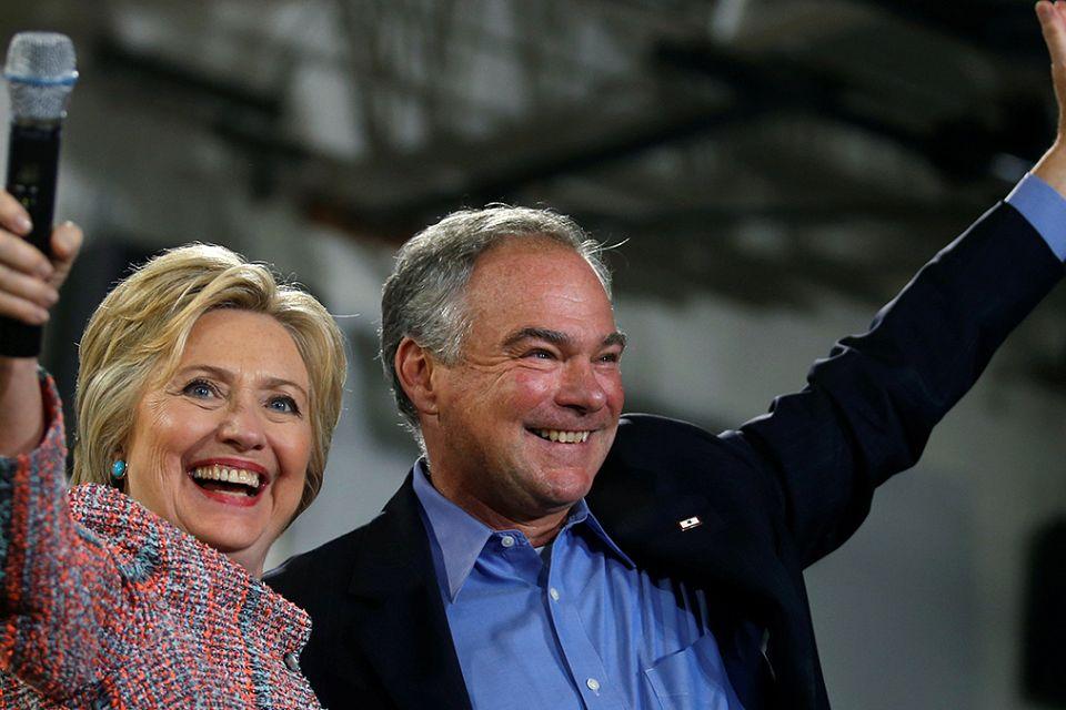 Clinton picks Tim Kaine as running mate for White House race
