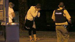 Amateur video shows Munich gunman at mall