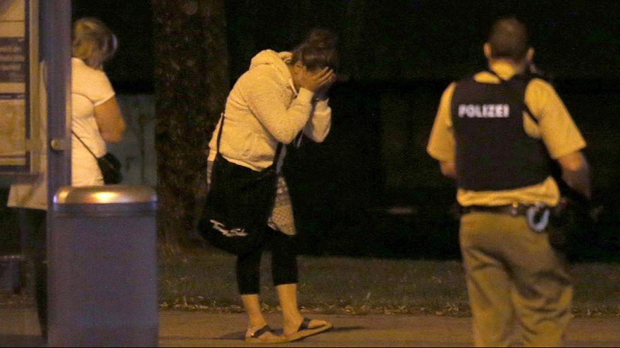 Video: Münchener Angreifer auf Parkhausdeck