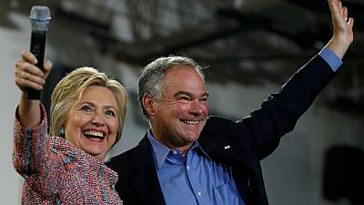 Clinton picks Kaine as running mate