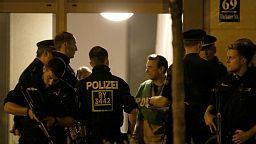 Police raid Munich apartment