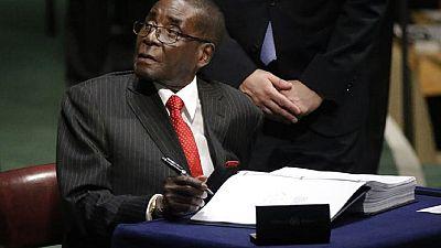 Les vétérans ne veulent plus de Robert Mugabe
