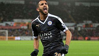 Riyad Mahrez en route vers Arsenal