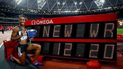 Les victoires à la Ligue de diamant de Londres