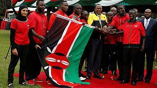 Kenya: Uhuru hands over flag to Rio team