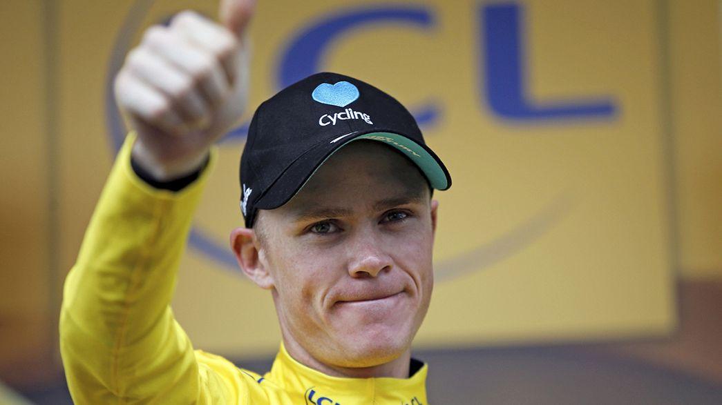 """От третьего триумфа на """"Тур де Франс"""" Фрума отделяет лишь формальность"""