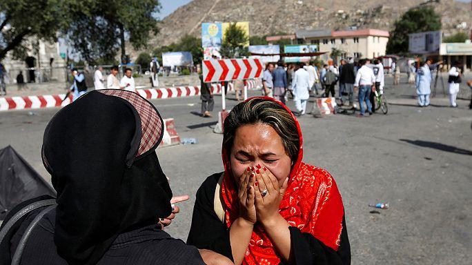اكثر من ثمانين قتيلا ومئتي جريح في تفجيرات انتحارية في كابول