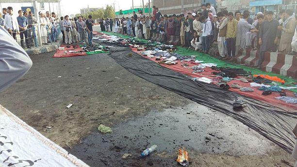 تظاهرات خونین در کابل ادامه می یابد
