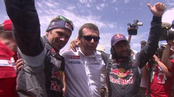 رالي طريق الحرير: الفرنسي سيريل ديبري يفوز بعد 10 آلاف كلم من السباق
