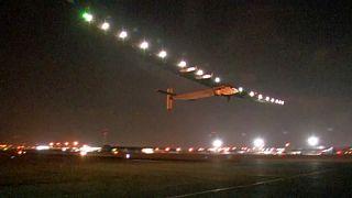 Solar Impulse Mısır'dan son yolculuğuna uğurlandı