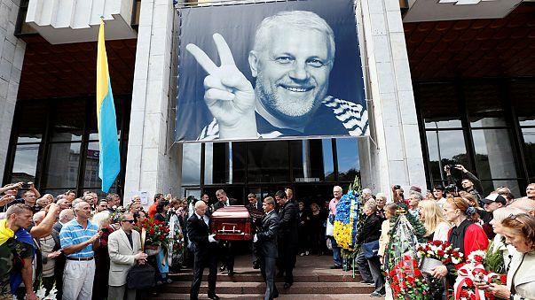 Dernier hommage au journaliste assassiné Pavel Cheremet