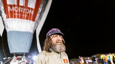 L'aventurier russe Fedor Konyukhov bat le record du tour monde en montgolfière