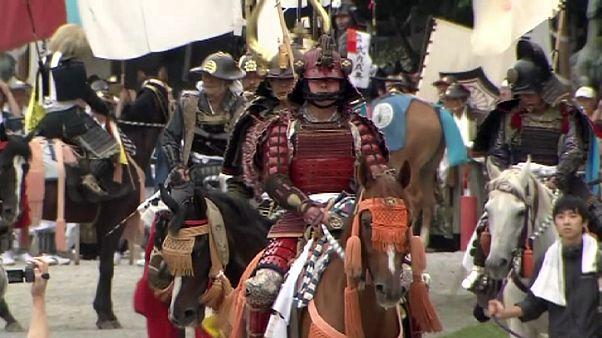 اليابان تحي ماضيها الغابر في مهرجان الصيف